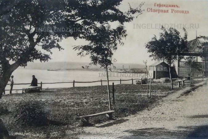 1910. Waterfront. Gelendzhik