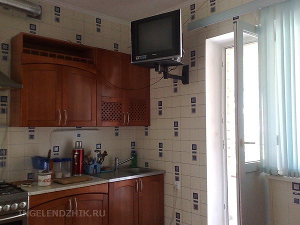 Gelendzhik private sector. Photo of the kitchen for Room 3 and Room 4