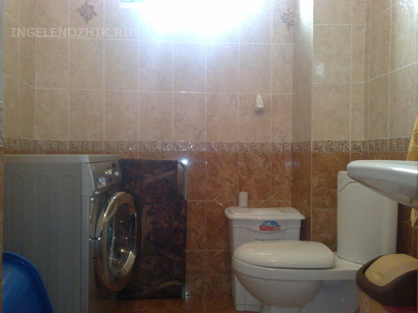 Gelendzhik private sector. Photo of the toilet 2 for Room 2 and Room 4