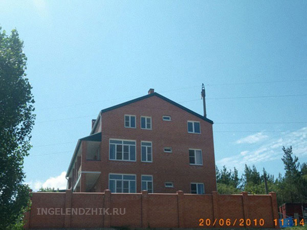 Gelendzhik private sector. Photo of the house