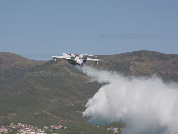 Photo of the water aviation show of Gelendzhik